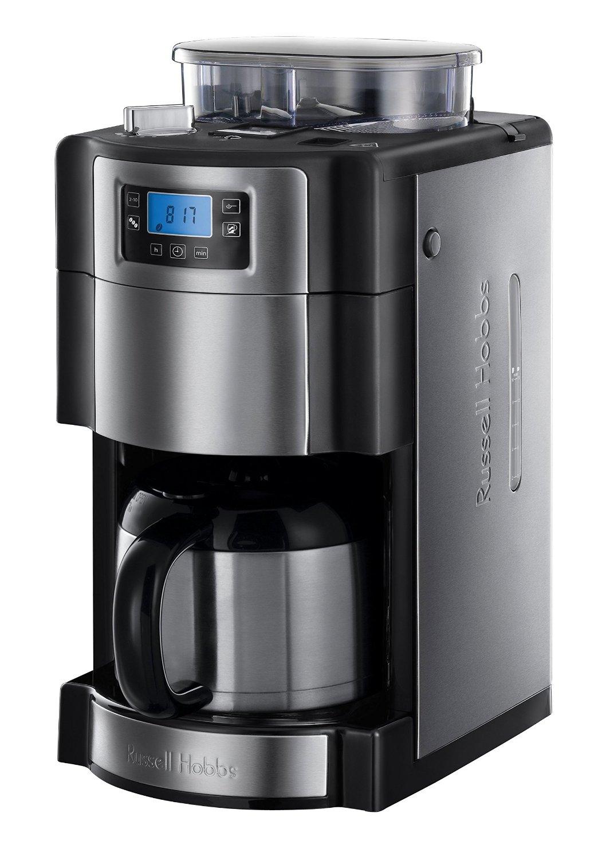 Kaffeemaschine mit Mahlwerk und Thermoskanne im Test ~ Kaffeemaschine Thermoskanne