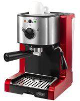 Mit so einer Siebträgermaschine können Sie einen tollen Cappuccino zu hause zubereiten