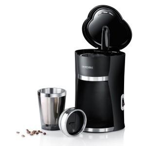 Arendo Schnellkoch-Kaffeemaschine To Go